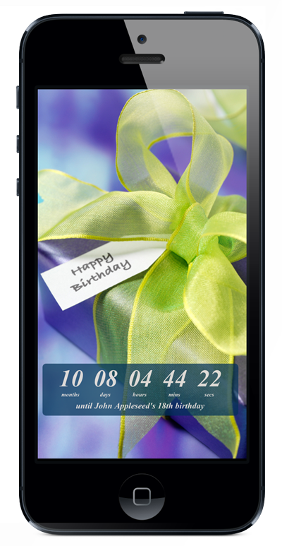 Birthday Countdown Mobile App